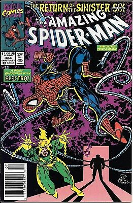 The Amazing Spider-Man #334 335 336 337 338 339 Return of the Sinister Six