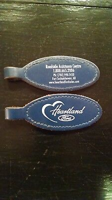 Leather Heartland Ford Advertising Key chains Key rings