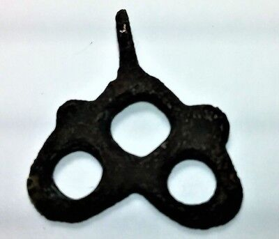 c. 4th-11th Century AUTHENTIC CELTIC PAGAN AMULET . . WATER, FIRE & EARTH