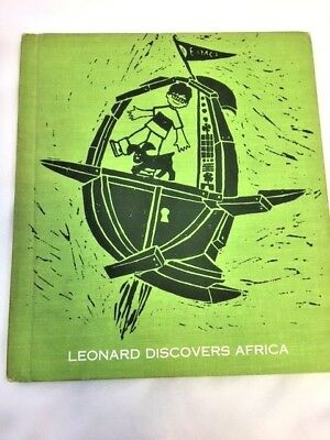 Leonard Discovers Africa Time Machine Series 1967 Vintage Childrens Book Darby