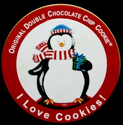 Christmas Penguin I Love Cookies! Bright Colorful.by Original Gourmet.