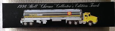 NEW Shell Gas Truck 1996 Shell Chrome Collectors Edition Truck #4 Limited