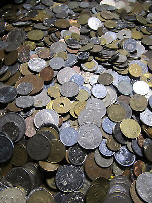 World Coin Lot 1/2 pound 0.5 lbs FREE SHIPPING random Foreign bulk collection