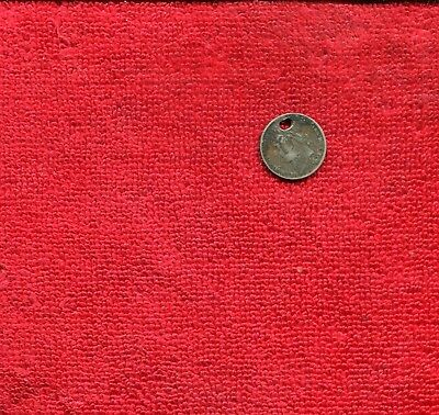 Great Britain 6 Pence Couter Stamped Ib 1838 7.50