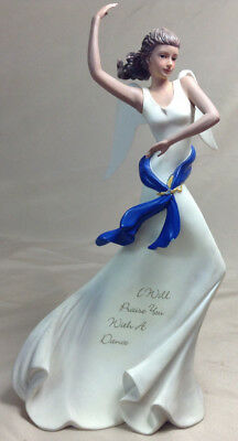 "Angels Of Praise Collection Figurine ""I Will Praise You With A Dance"""