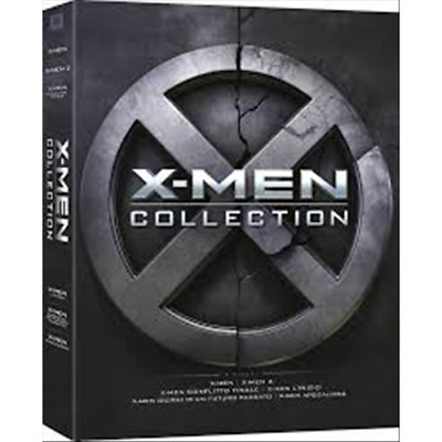 X-Men - Complete Collection (6 Dvd)  [Dvd Nuovo]
