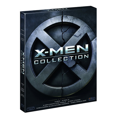 X-Men Complete Collection (6 Blu-Ray)  [Blu-Ray Nuovo]