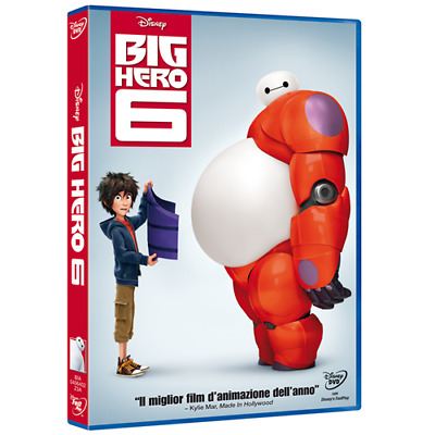 Big Hero 6  [Dvd Nuovo]