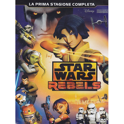 Star Wars - Rebels - Stagione 01 (3 Dvd)  Dvd Nuovo