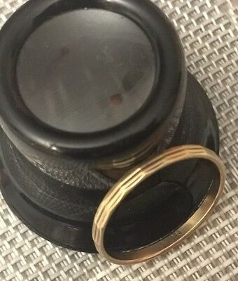 Goldring Ehering Trauring 333 Gelbgold