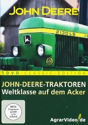 Die 5 DVD John-Deere-Box, AgrarVideo