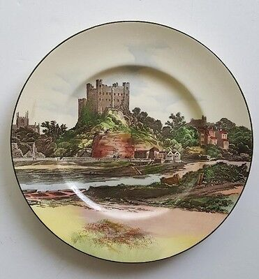 ROYAL DOULTON D6308 Castles & Churches Plate - Rochester Castle