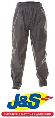 Frank Thomas BGT Rain Pants Waterproof Over Trousers WP FT Motorcycle J&S