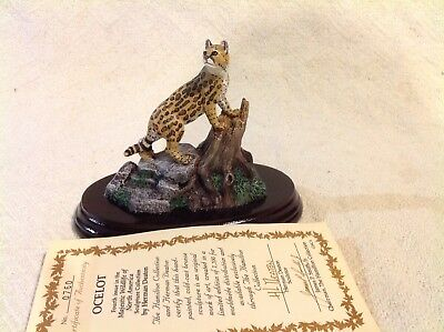 Herman Deaton OCELOT 4th issue 760/7500 in majestic wildlife of North America 83