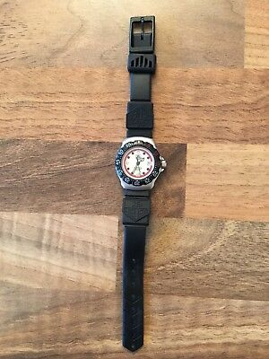 Vintage Genuine Tag Heuer Formula 1 Ladies Watch with New Glass & Tag Heuer Case