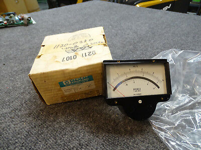 Hewlett Packard HP Agilent 1120-0320 Voltmeter 0-3 MA for HP 3400A BRAND NEW