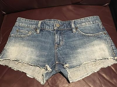 Ralph Lauren denim mini shorts size 27 NWOT Retails $69