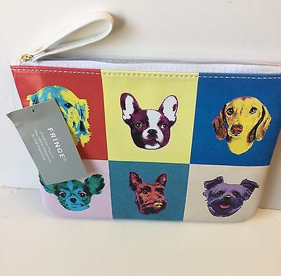 Boston Terrier Pouch With Strap