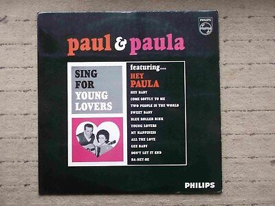 Lp - Paul And Paula - Young Lovers- Philips 652026 Bl