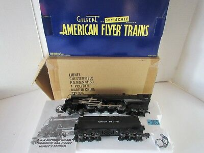 American Flyer Union Pacific 4-8-4 Northern with RailSounds 6-48047 O.B.