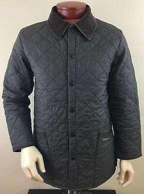 BARBOUR Men's Liddesdale Quilted Jacket Size S