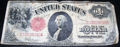 1917 UNITED STATES $1.00 NOTE, Speelman and White, Fair