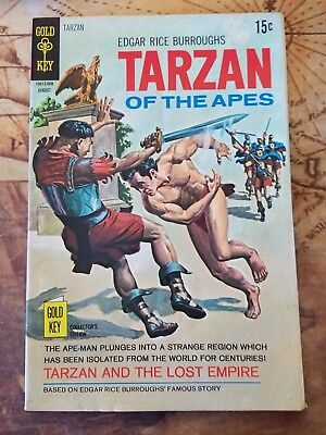 Tarzan Edgar Rice Burroughs' Gold Key Collectors Edition #194 1970