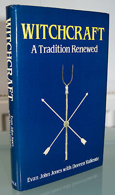 WITCHCRAFT - A TRADITION RENEWED Evan Jones HB Occult Tubal Cain Andrew Chumbley