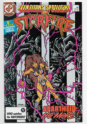 Teen Titans Spotlight 1 Starfire First Issue