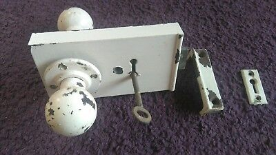 vintage 1920s door locks and furniture