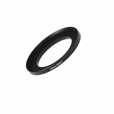 Fotodiox Metal Step Up Ring Filter Adapter, Anodized Black Aluminum 43mm-58mm...
