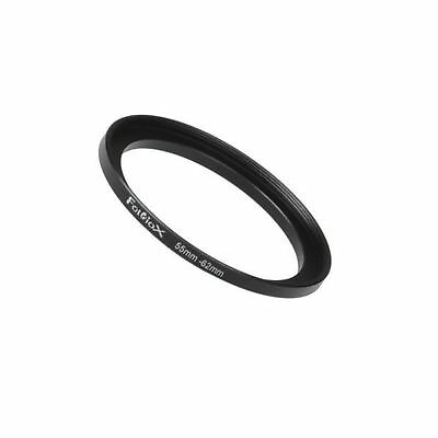 Fotodiox Metal Step Up Ring Filter Adapter, Anodized Black Aluminum 55mm-62mm...