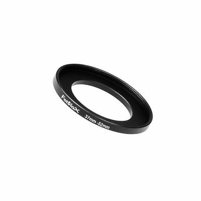 Fotodiox Metal Step Up Ring Filter Adapter, Anodized Black Aluminum 37mm-52mm...
