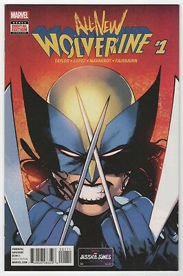ALL NEW WOLVERINE 1 NM(1st Appearance Laura Kinney X-23 as Wolverine)(X-Men Red)
