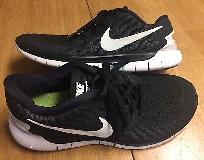 low priced 24ac7 6b7ce MENS NIKE FREE 5.0 Running Barefoot Ride 724382-002 SIZE 8.5 (fits a  women's 10)