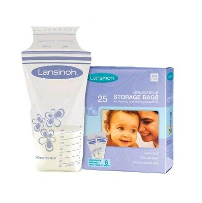 BNIB Lansinoh Breastmilk Storage Bags Pack of 22 Brand New (breastfeeding)