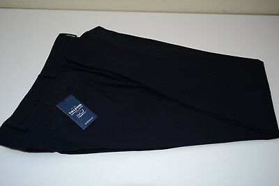 TM LEWIN Navy Mens Suit Trouser W32 L34 - Pure Merino Wool, New with Tags!