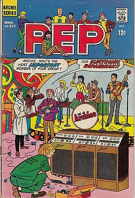 Pep #227 (Archie-1969) VGD-/VGD -combine ship-