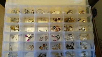 vintage earrings lot over 30 pairs