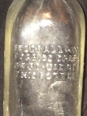 Vintage John B Walker and Sons 4/5 Pint Scotch Bottle ca.1940's