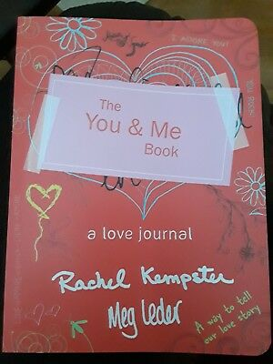 BRAND NEW:  The You & Me Book: A Love Journal