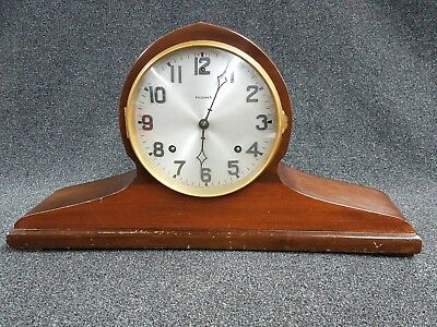Antique Ansonia Mantle Clock - International Harvestor Co. Employee Gift Plate
