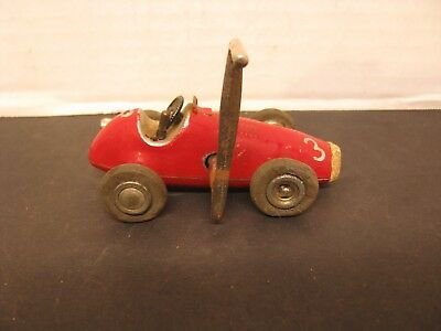 Schuco #1040 Micro Racer Made in US Zone Germany With Original Crank