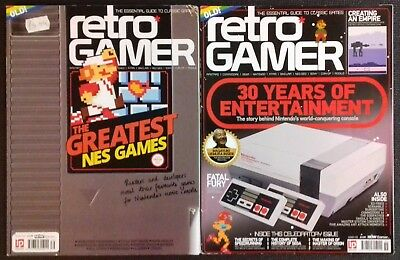 Retro Gamer magazine: NES Collection - Issues 139 and 155