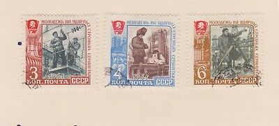 (V8-8) 1961 Russia old stamp pack 3stamps work of Youth (I)