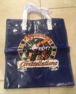 Endymion Mardi Gras Bead Storage Bag 2017 With Cloth Strap New