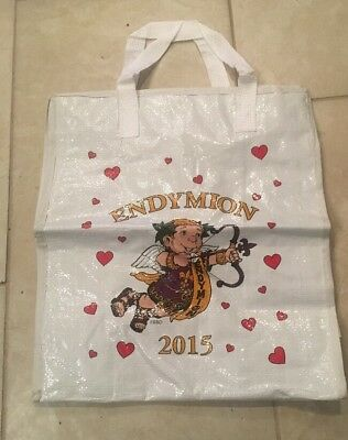 Endymion Mardi Gras Bead Storage Bag 2015 With Cloth Strap New