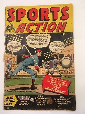 Sports Action #4 (1950) Unrestored Golden Age (GD/VG 3.0)