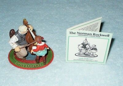 "Vintage Norman Rockwell Ornament Collection ""Little Ballerina"" 1986"