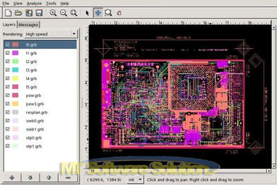 GERBER VIEWER VIEW PCB CAD Circuit Board Design Software - EUR 6,79 ...